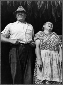 This lovely image comes from the Farm Security Administration and is of a Polish Farming couple. Photo by Jack Delano and assumed to be in the public domain.
