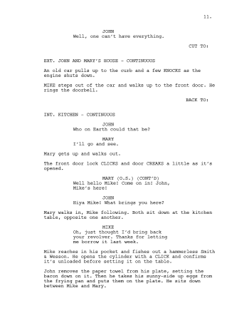 How to read a script -- screenplay and corporate script